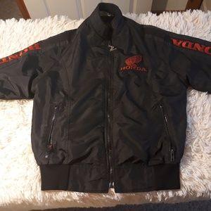 Vintage hondaline jacket men small bomber